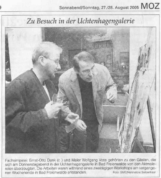 Sommerakademien 2003 2007 for Aktzeichnen frankfurt
